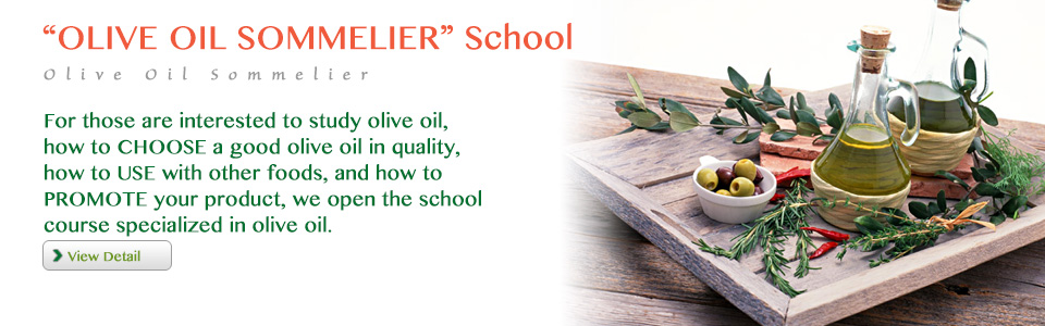 OLIVE OIL SOMMELIER School