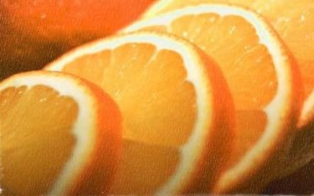 オレンジとオリーブオイル
