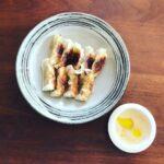 オリーブオイルの食べ方提案‼️餃子のタレ