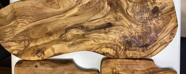 オリーブの木目は芸術です