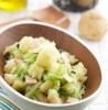 オリーブの香り豊かなポテトキャベツサラダ