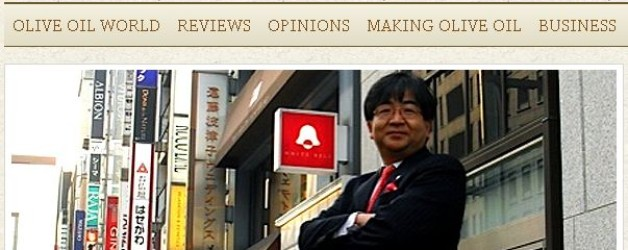 The OLIVE OIL TIMES Captioned Toshiya Tada, Chairman of OSAJ and OLIVE JAPAN 2012