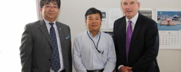 協会理事長による小豆島町長訪問が同町長のブログに掲載されました。