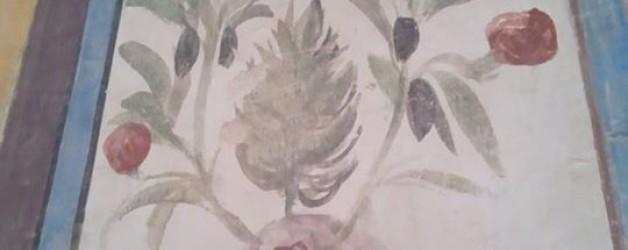 14世紀のフレスコ画