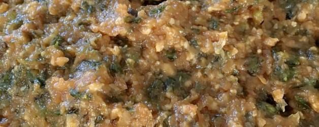 オリーブオイルでつくる『ふきのとう味噌』