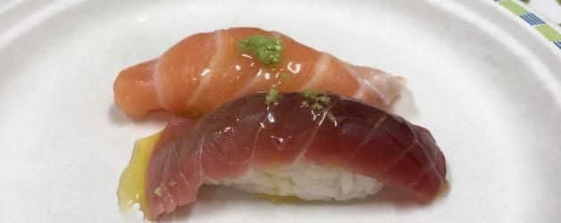 お寿司とオリーブオイル