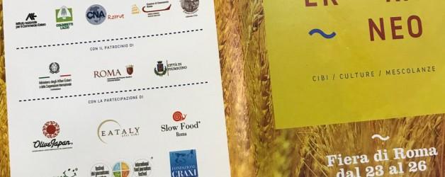 ローマで開催されたMercato Mediterraneo展に招待出展いたしました!